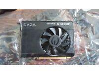 EVGA Geforce GTX 650 ti 1Gb Graphics Card