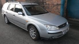FORD MONDEO LX TDI ESTATE