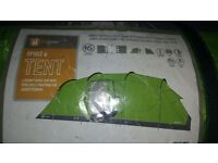 hi gear Spirit 6 ...3 bedroomed family tent.,used only once