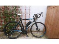 Boardman CX Comp Gravel / Cyclocross Electric Bike Bafang 500W mid drive