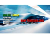 Arabic Translation Interpretation QA Editing & Proofreading