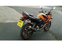 Honda cbr 125. Long mot. Very fast and reliable bike
