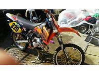 KTM 125cc sx 2003