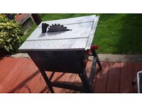 Machine saw - table woodcutter - electric
