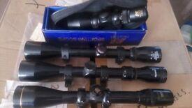 Telescopic rifle sights X four