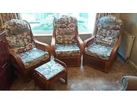 Conservatory chairs and stool