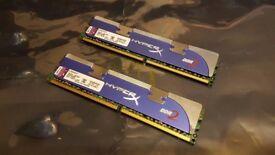 Kingston HyperX 1066MHz CL5 DDR2 Gaming Memory PC RAM 2 x 2GB (4GB) (KHX8500D2K2/4G)