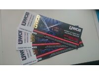 3 Tickets to Ultra White Collar Boxing Event 18th March in Doncaster Racecourse