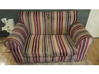 2x2 next sofas and foot stool