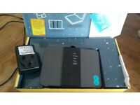 EE Brightbox Router with charger and box