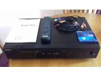 Sony minidisc player few minor marks on top of unit. Comes with all leads remote and sealed minidisc