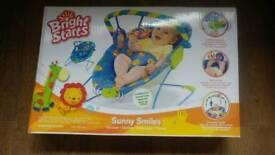 Baby bright stars blue Sunny smiles bouncer