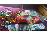 Bundle/lot of children's toys/books/games
