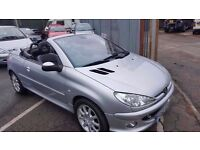 2003 206 CC 2.0 SPORT ONLY 61K MILES CONVERTIBLE PX WELCOME