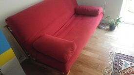 futon company double sofa bed 3 seater w/thicker futon