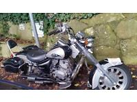 VGC Chopper Harley Style Learner Legal Motorbike Kinroad Cyclone 125 Xtreme Low Mileage 100% Working