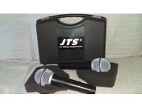 Boxed as new,jts tm929 wired microphones