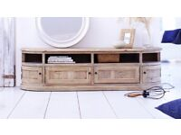 Brand new stunning washed pine sideboard