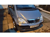 SILVER COLOUR MERCEDES BENZ A140 CLASS REG 2002 (52) MILEAGE 91000 MOT: MARCH 2017