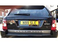 Private registration N99 SLE for sale
