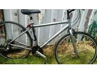 Here's a very nice trek hybrid bike for sale