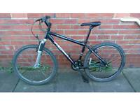 Adults/teens Apollo xc26 mountain bike 17 inch very light aluminium frame, ready to ride