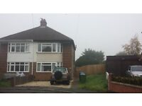 1st floor maisonette, close to Rugby town centre - off street parking