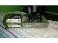 Classic Crystal white Xbox Console