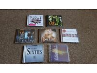 11 CDs for sale, various genres, will sell separate.