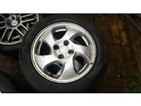 Honda Civic Vti fanblade alloys rims