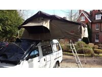 Roof Tent Glamping 4 x 4 Landrover