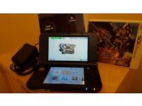 Nintendo 3ds XL(new model)game+Sky3ds