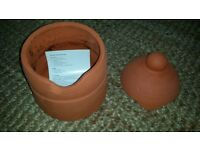 Tandoor with instructions for use