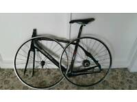 Specialized road bike full carbon fiber frame with wheels set