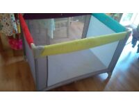Mothercare travel cot - as good as new!