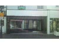 Shop for rent in Queen Street, Neath town centre.