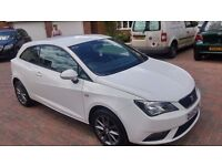Seat Ibiza Toca (white) in immaculate condition