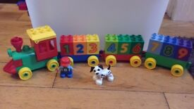 Duplo 3 full sets. Big blocks Alphabet. £10