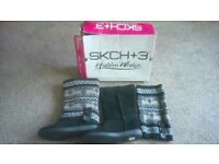 sketchers doe a deer ladies boots new