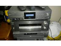 SONY SURROUND SOUND SYSTEM /STEREO WITH WIFI HDD RECORDER
