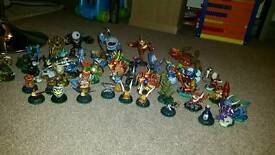 Skylanders: 3 games and Large Collection