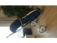 peter alliss golf clubs carrybag and trolley