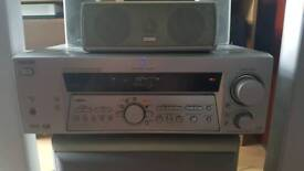 Sony STR-DE875 surround sound system with TEAC speakers