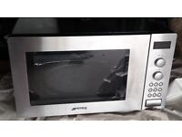 Smeg FME24X Microwave Oven with Grill