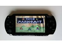 Sony PSP 1003 Console 32 gb - over 6000 games - Neo Geo, SNES, Megadrive, Atari