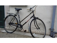 MANS & LADIES TOWN BIKES WITH BELL,PUMP-LARGE £50 READ AD!