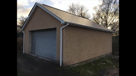 NEW BUILD PRIVATE GARAGE, WORKSHOP, STORAGE FOR SALE