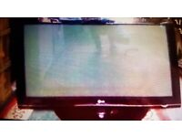 LG Wide-screen 42 inch HD TV. Remote control. Open to offers. Collect today cheap