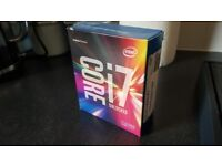 Intel i7 6700k processor, boxed in good working order.