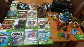 Xbox 360 with games and extras